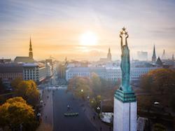 Laqtvia Riga Monument of Freedom