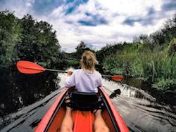 Latvia boat trip