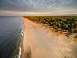 Latvia seaside