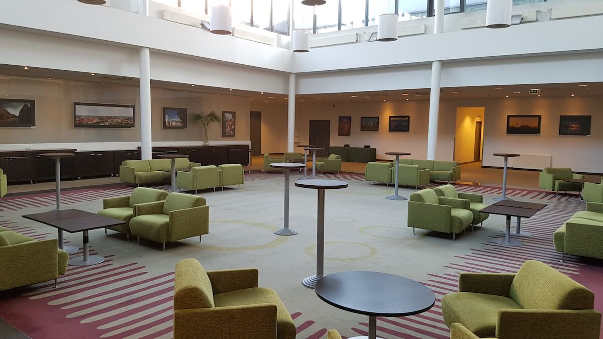 Radisson conference centre lobby